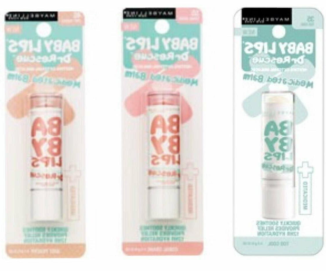Maybelline Baby Lip Balm Dr. Rescue Medicated Balm Choose