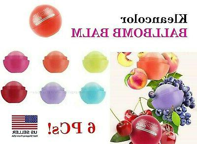 Kleancolor BALLBOMB BALM - All 6 PCs! Ultra Fruit Nourishing