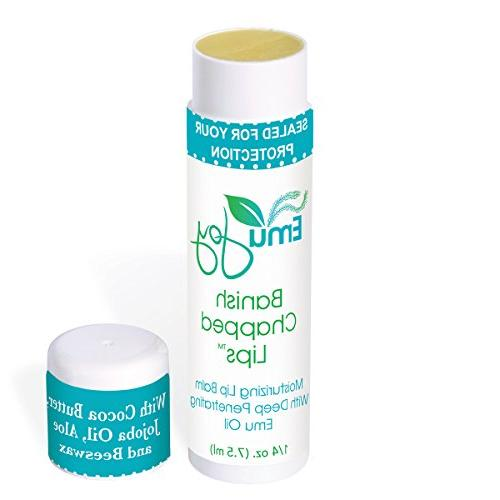 banish chapped lips lip balm