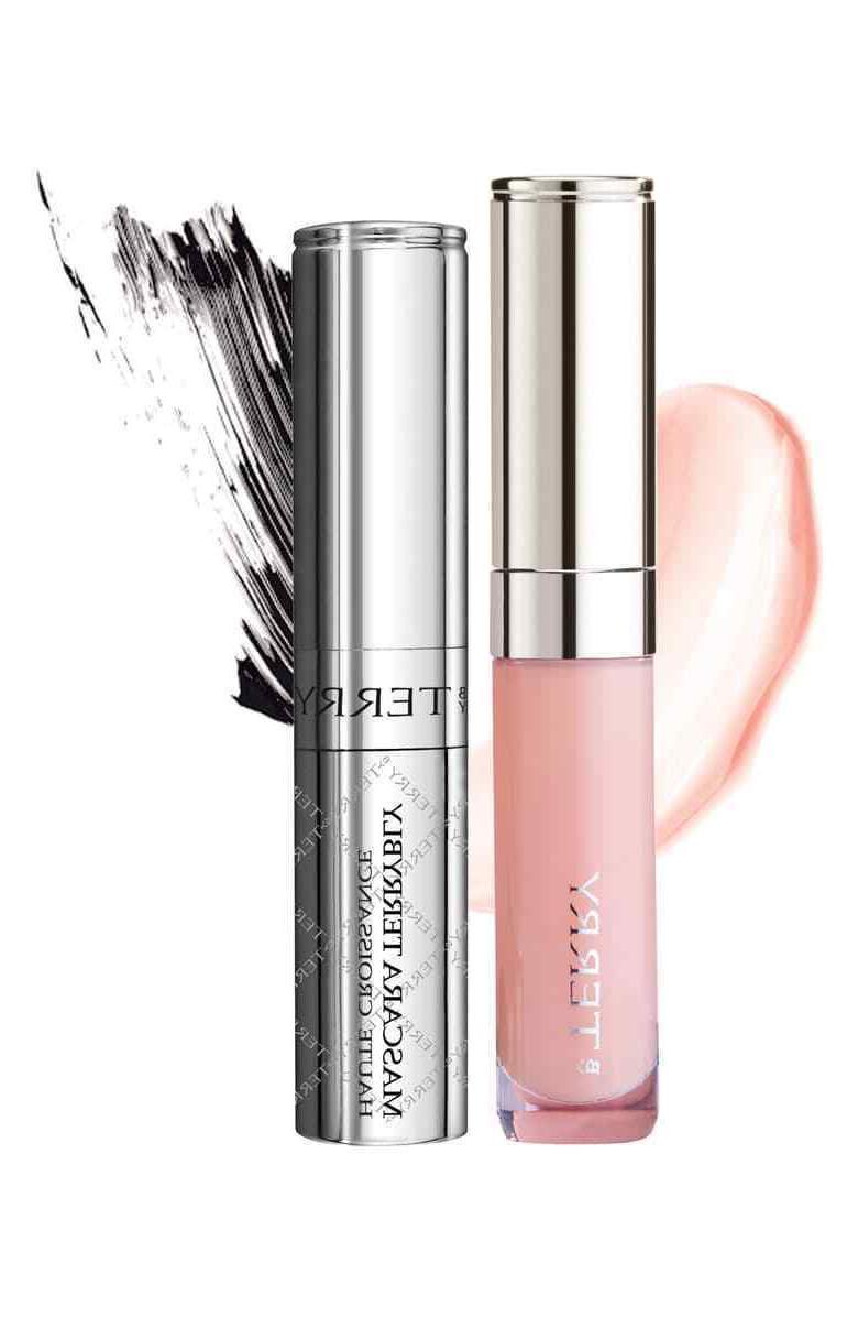 baume de rose lip gloss and mascara