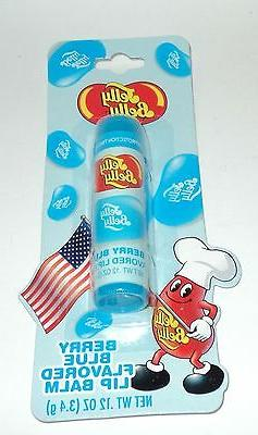 Jelly Belly Berry Blue Flavored Lip Balm .12 oz