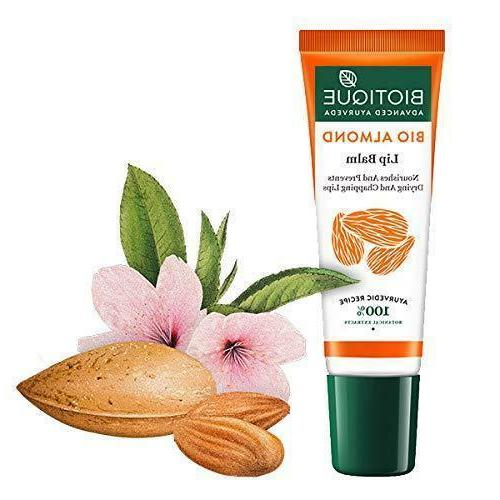 bio almond overnight therapy lip balm 10