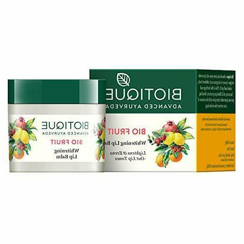 bio fruit whitening lip balm bio fruit