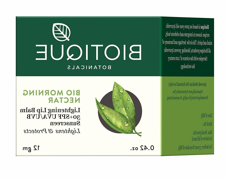 Biotique Bio Morning Nectar Lightening Lip Balm Spf 30 Uva/U