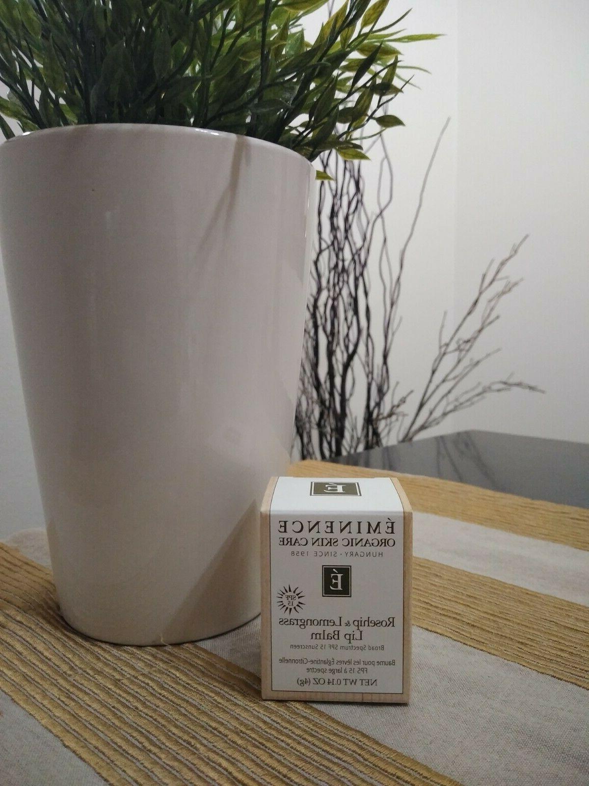 brand new rosehip lemongrass lip balm eminenve