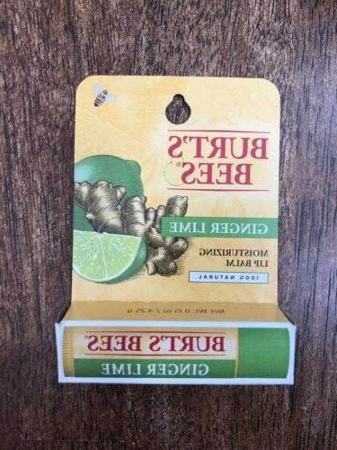 burt s bees ginger lime lip balm