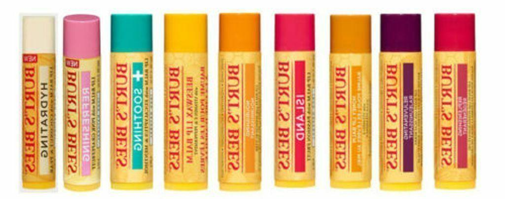 burt s bees lip balm 100 percent