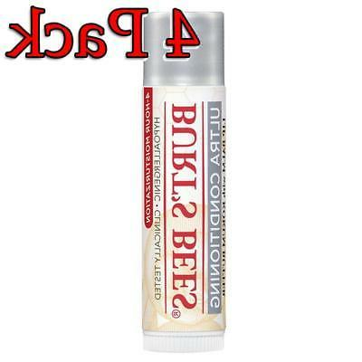 Burt's Stick, Ultra Conditioning, 4 Pack