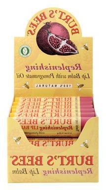 Burts Bees 15722-20 Replenishing Lip Balm With Pomegranate O