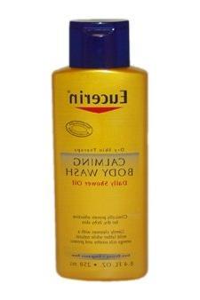 Eucerin Calming Body Wash Daily Shower Oil -- 8.4 fl oz