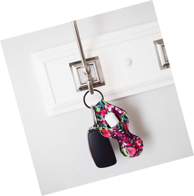 Chapstick Keychain, Cute Design Neoprene Lip Balm