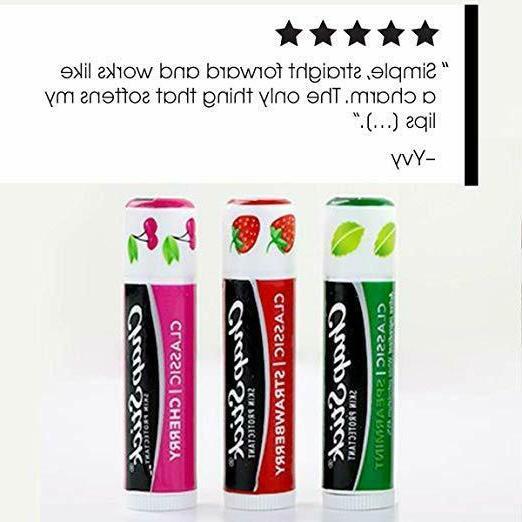 ChapStick Strawberry Spearmint Flavor Lip 0.15