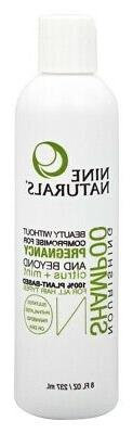Nine Naturals Citrus Mint Nourishing Shampoo - Citrus Mint -