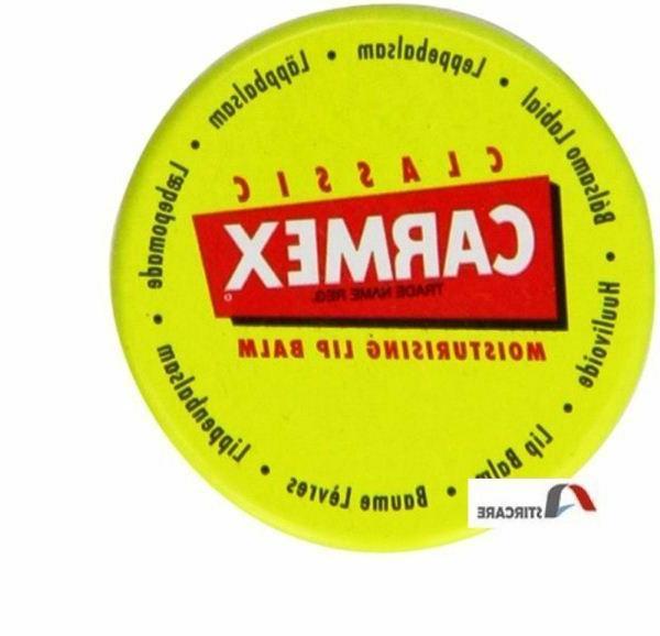 Carmex Classic Moisturising Lip Balm Pot Original 7.5 g