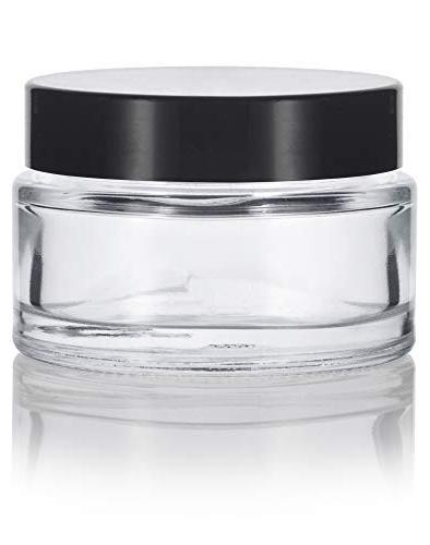 Clear Glass oz/ 30 Wall Balm with Foam Smooth + Spatulas