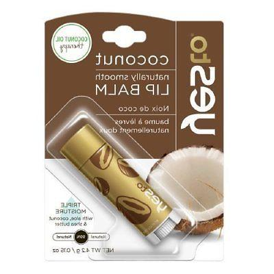 Yes to Coconut Oil Therapy Lip Balm 0.15 oz -3 Pack