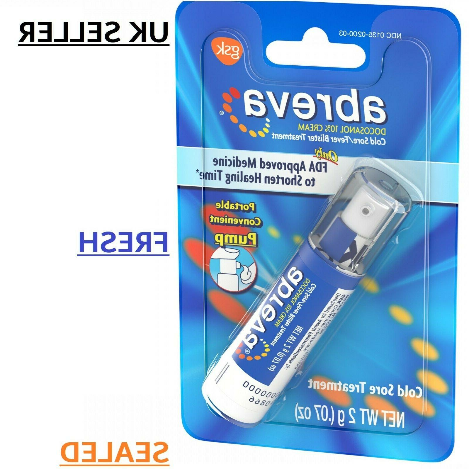 cold sore treatment pump for fever blisters