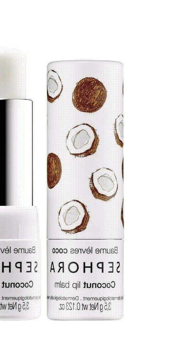 Sephora Collection coconut Flavor Lip Balm sealed