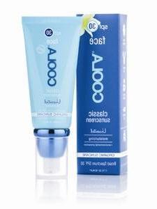 COOLA Sun Care - Classic Sunscreen Face Moisturizer Unscente