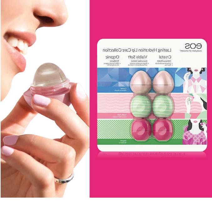 eos Crystal Lip 6 Hydration Collection