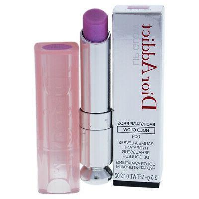 dior addict lip glow 009 holo purple