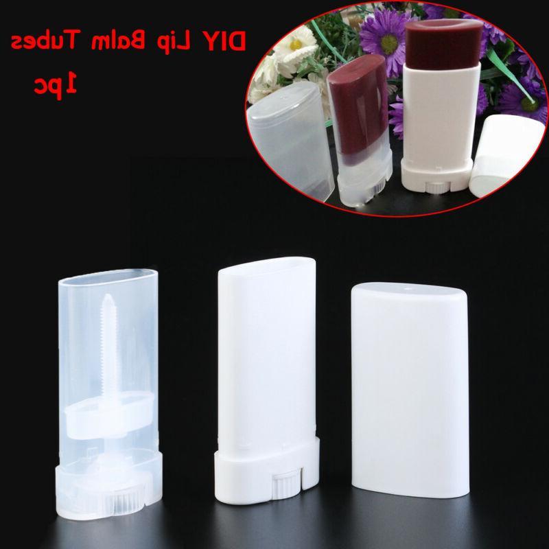 Empty  Antiperspirant Lipstick Tube Travel Bottle Lip Balm