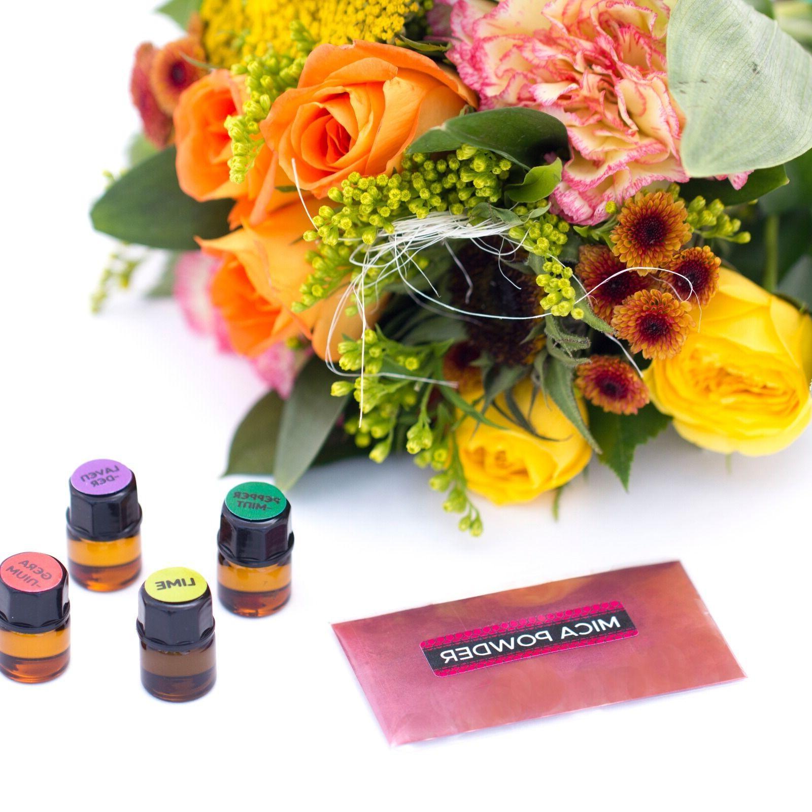 DIY Lip Balm Making Kit, Natural Organic   Includes Tubes,