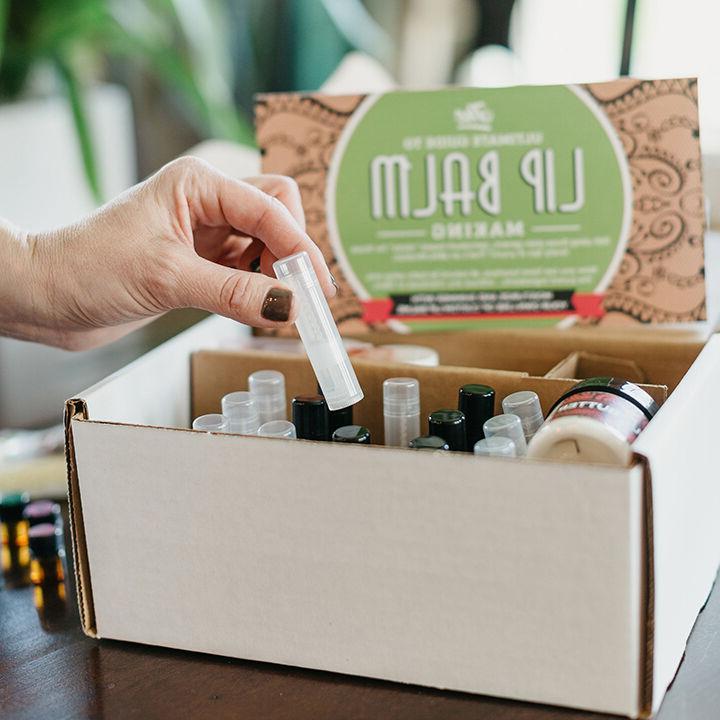 DIY Lip Kit, Homemade, Natural Organic  
