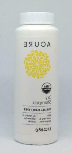 Acure Organics Dry Shampoo, 1.7 oz, Powder