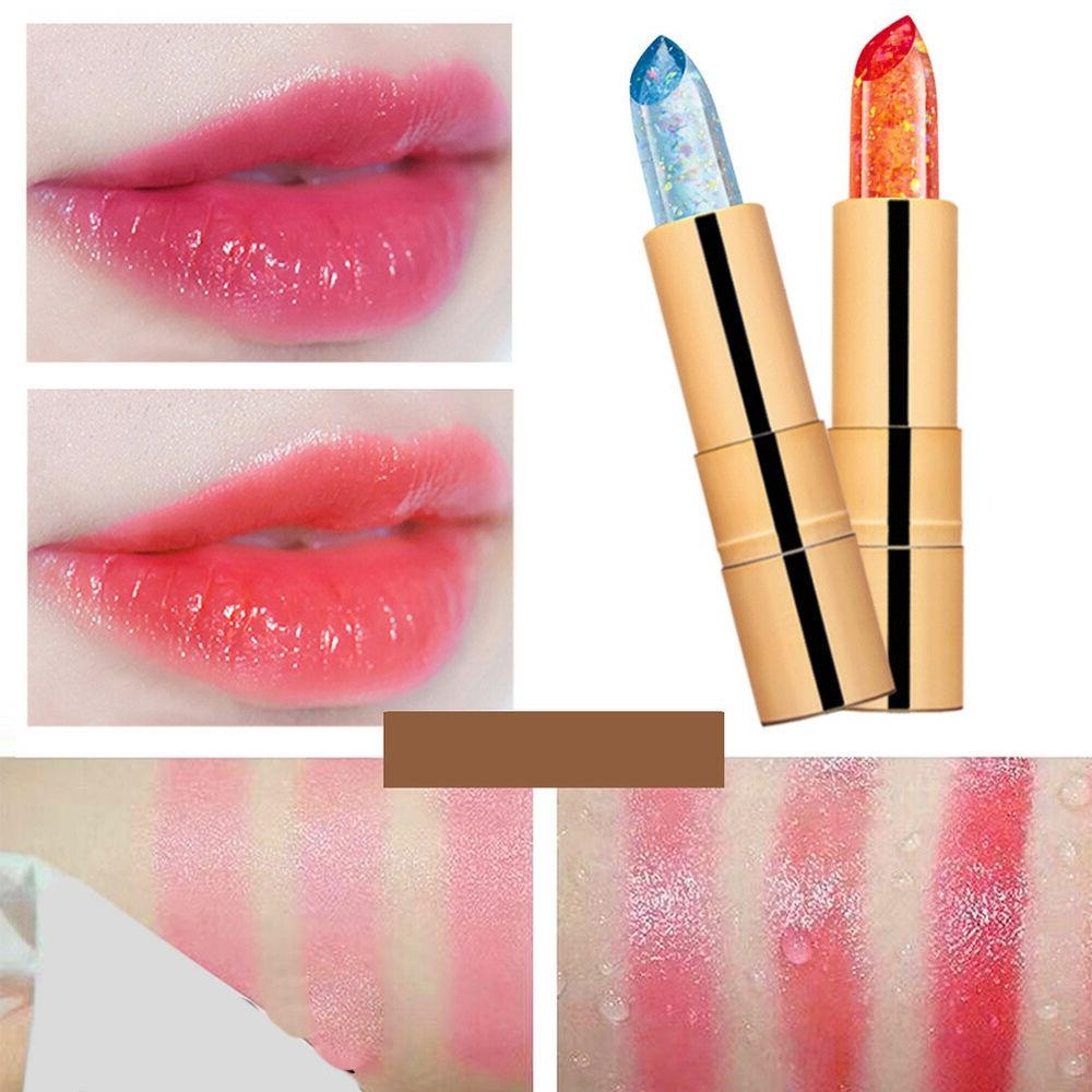 DV_ Waterproof Jelly Color Change Lasting Moisturizing Lip Balm
