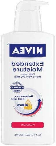Nivea Extended Moisture Daily Lotion for Dry to Very Dry Ski