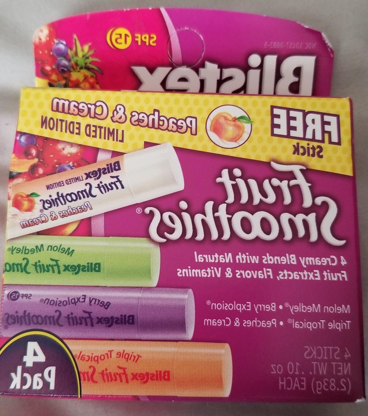 fruit smoothies 4 pack lip balm older