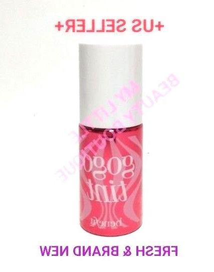 gogo tint lip cheek stain bright cherry