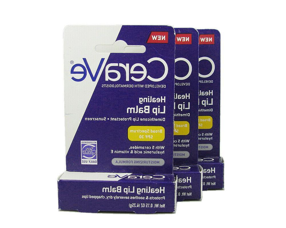 healing lip balm spf 30 3 tube