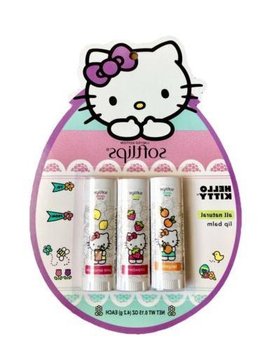 hello kitty soft lips lip balm limited