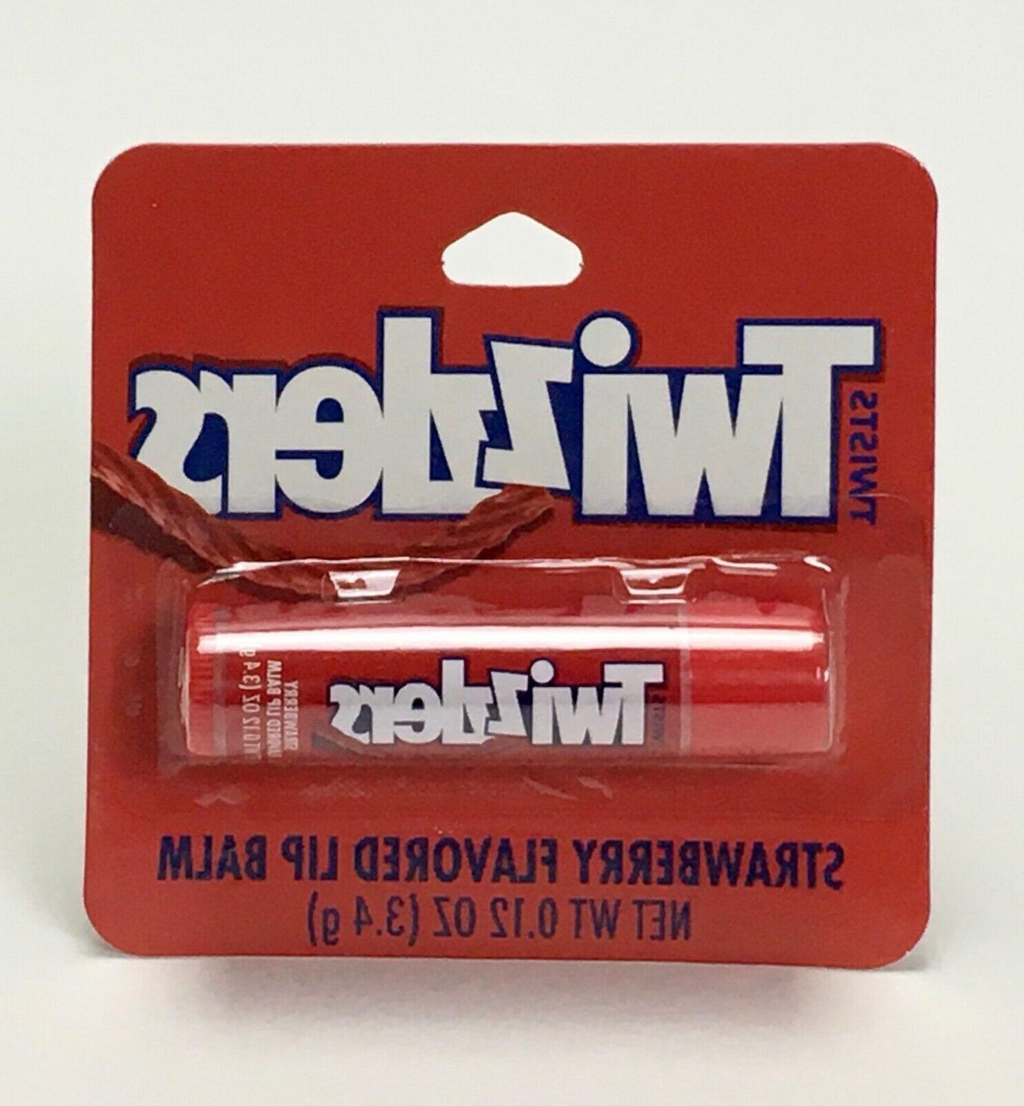 hershey s twizzlers strawberry flavored lip balm