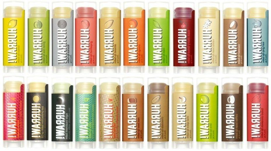 hurraw lip balm all natural premium raw