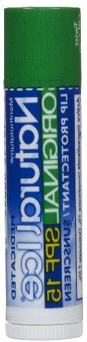 Mentholatum Natural Ice Medicated Lip Protectant/Sunscreen,