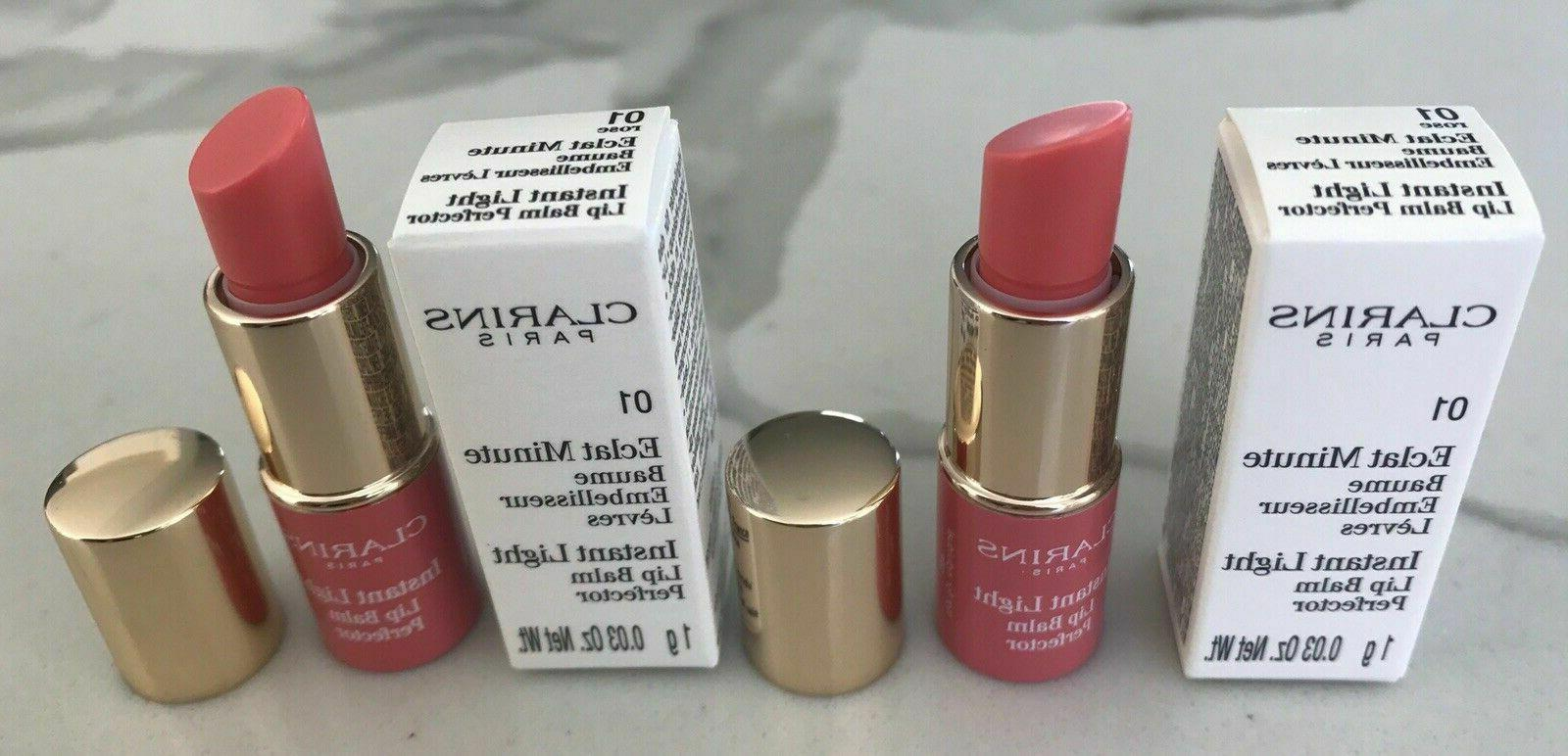 instant light lip balm perfector 01 rose