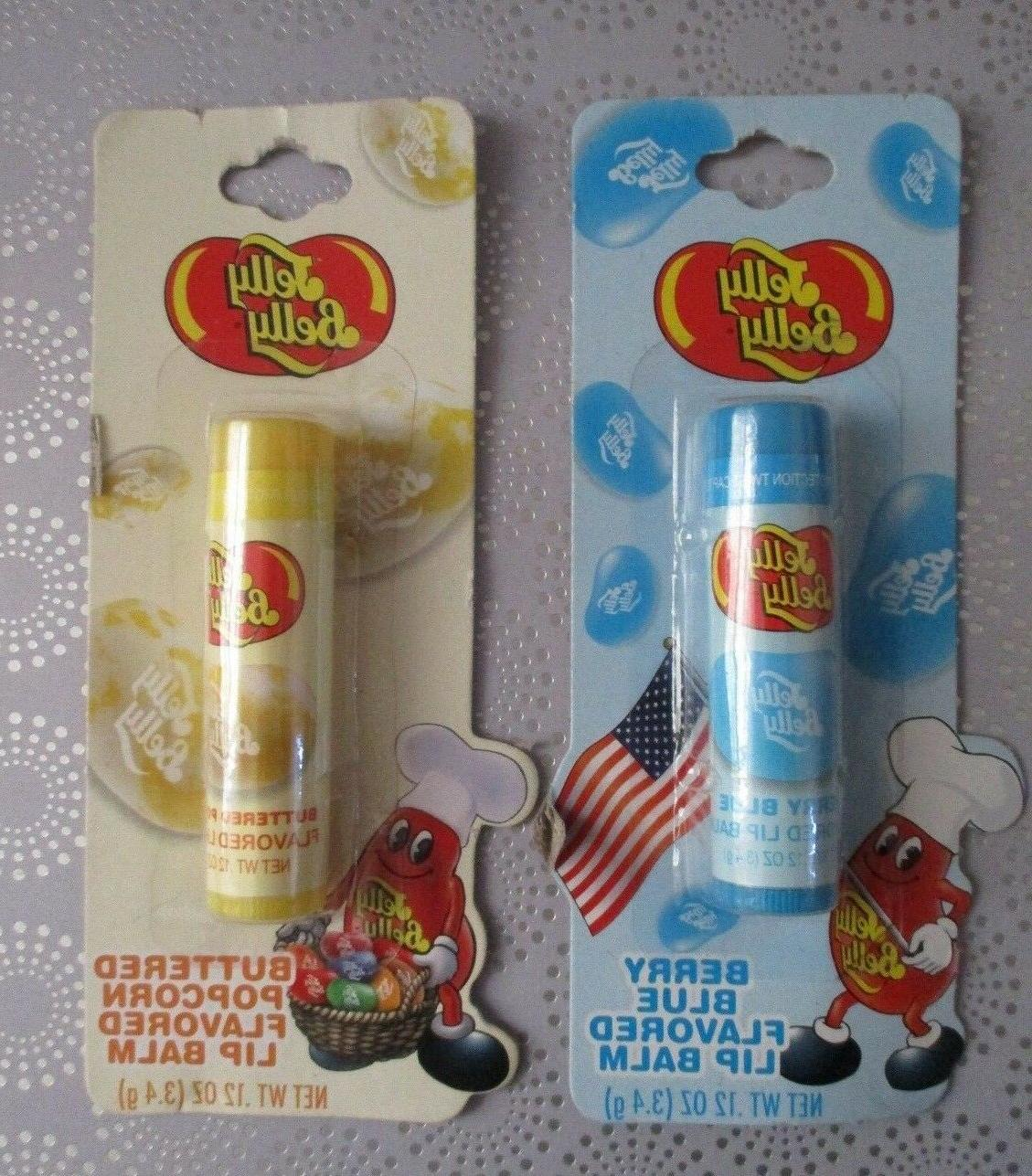 LOTTA Jelly Flavored Lip Balm/Balms LOT OF New/Sealed