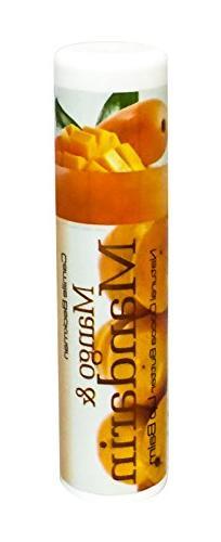 Camille Beckman All Natural Cocoa Butter Lip Balm, Mango & M