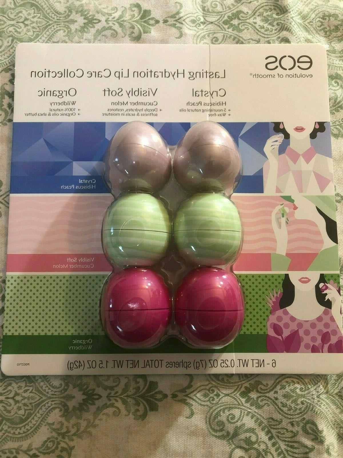 lasting hydration lip balm collection 6 pack