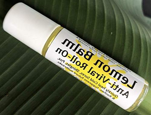 lemon balm cold sore shingles
