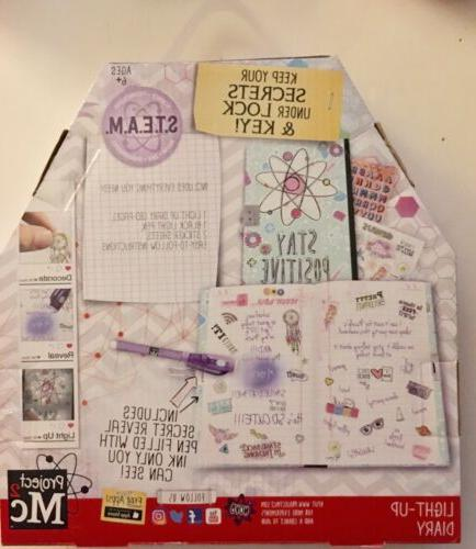 PROJECT MC2 UP DIARY Toy Group BRAND NEW FACTORY SEALED