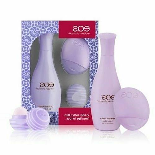 lip and lotion 3 piece gift set