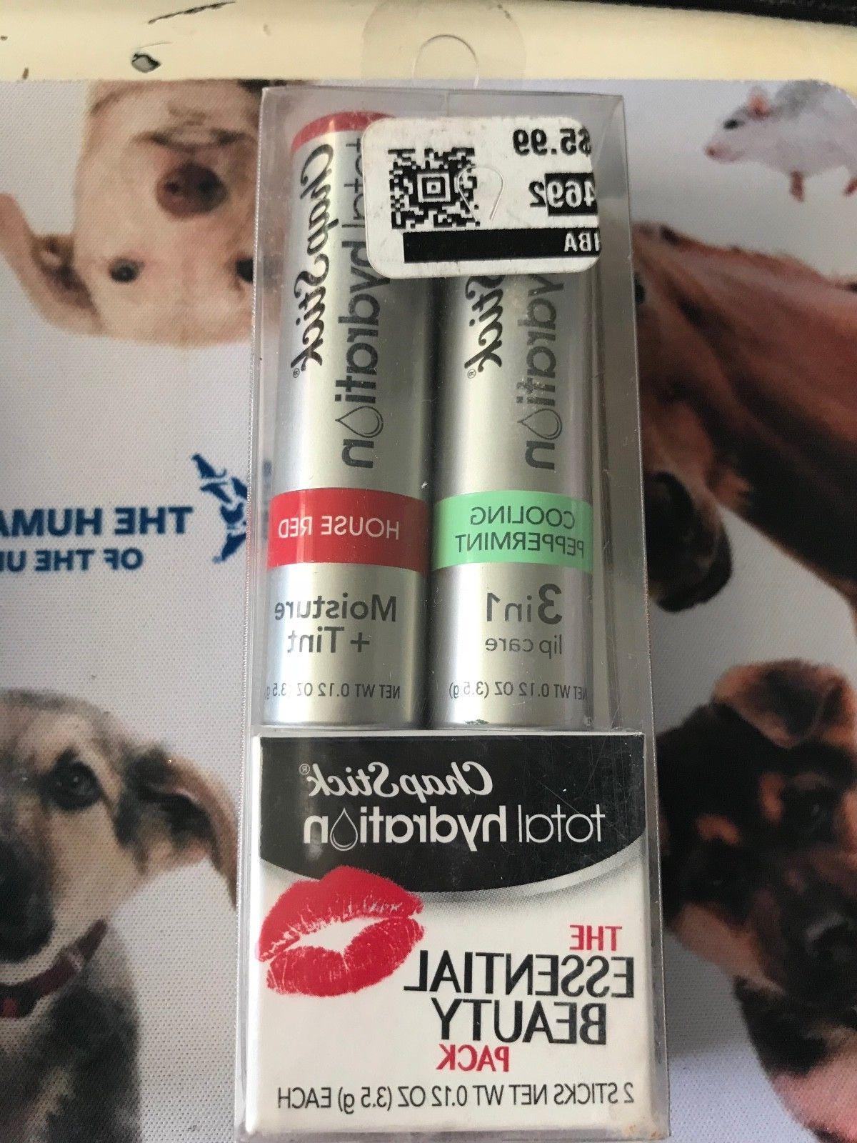 Chapstick Lip Balm 2 pc set total hydration tint U pIck Flav
