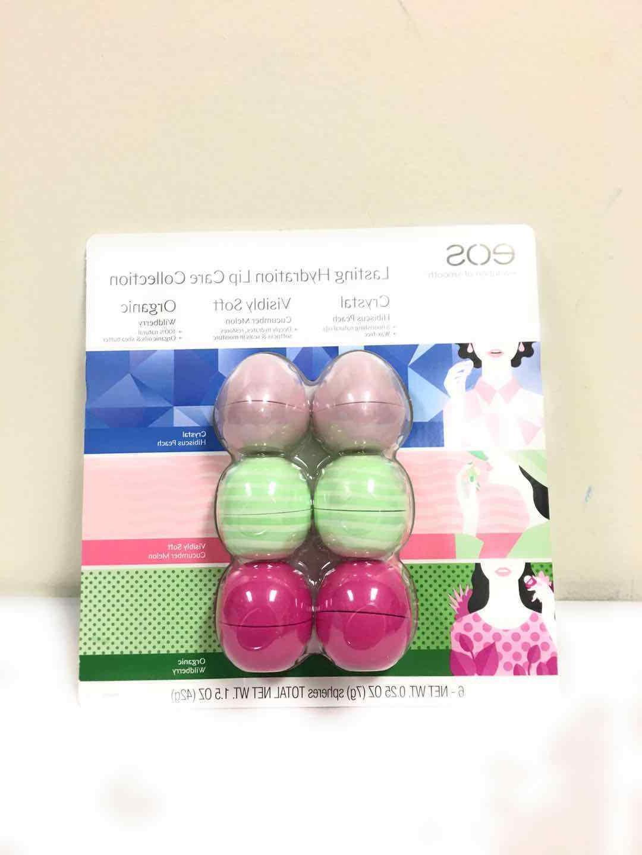 EOS 6 Pack Lasting Lip Spheres
