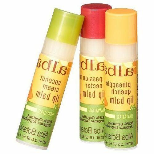 lip balm gloss hawaiian moistens 100 percent