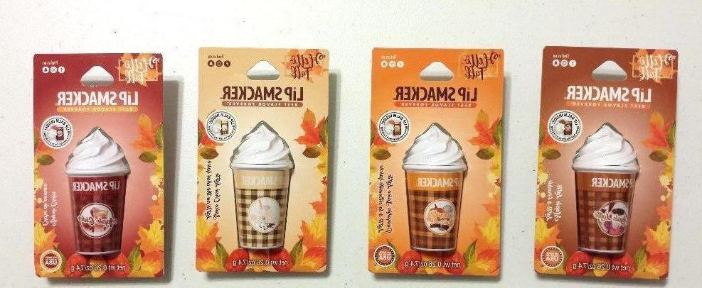 Lip Smacker Lip Balm Hello Fall Pumpkin Spice Latte, Maple L