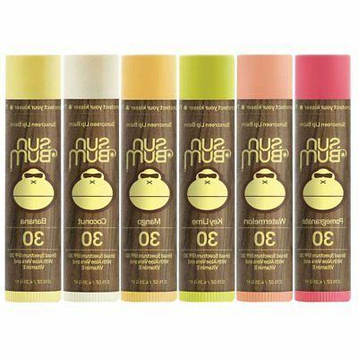lip balm spf 30 variety pack by